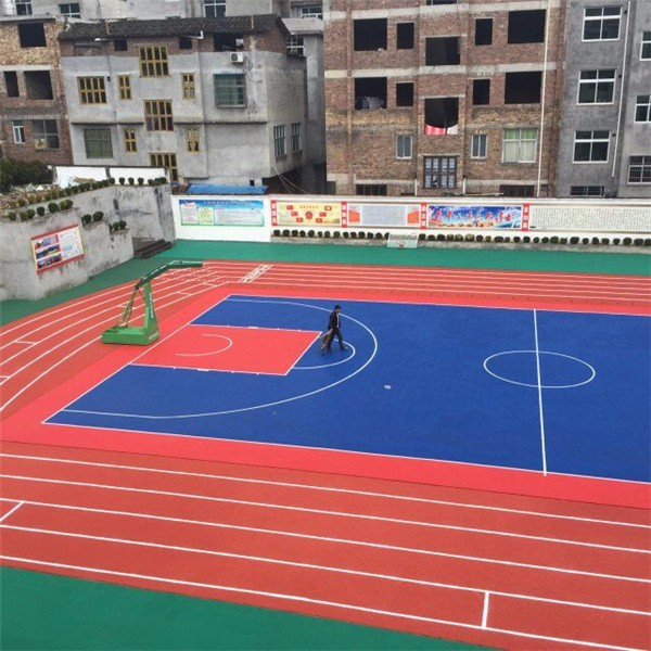 Pp interlocking backyard basketball court flooring buy for Buy indoor basketball court