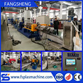 Automatic waste pe pp plastic pelletizing extruder machine