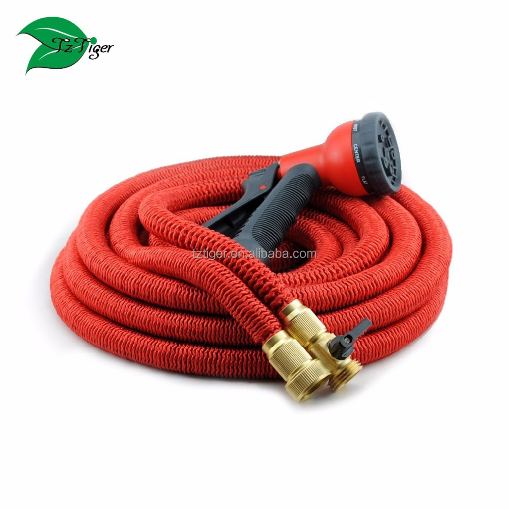 2017 New Expandable Garden Water Hoses Pipe Magic Flexible Expandable Hose for Watering Hose Garden With No buckle Connector