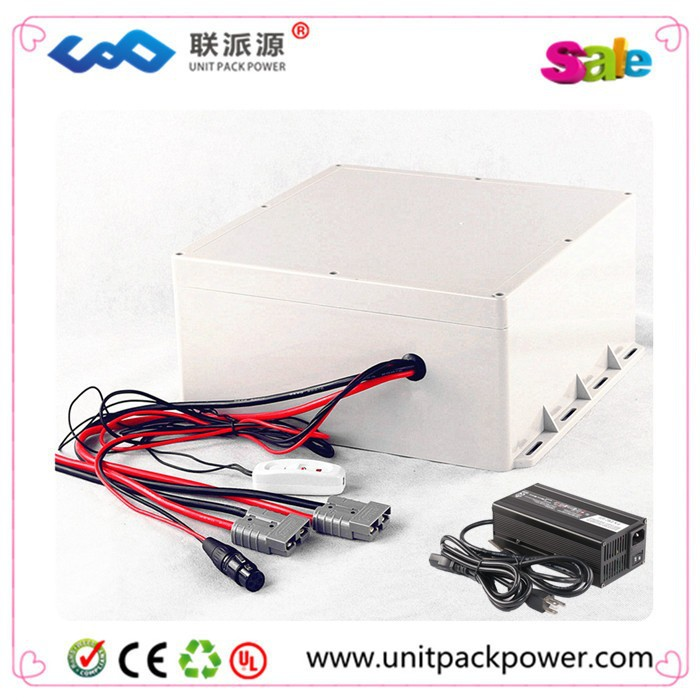 DIY Super Power with plastic box 48v 20ah Lifepo4 Battery Pack