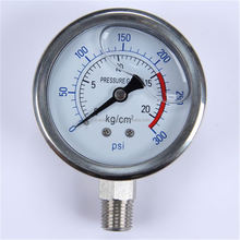 "Durable Lightweight Easy To Read Clear bourdon tube 2"" oil pressure gauge"