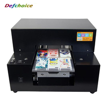 A4 UV printer cell phone case plastic card transparent business card printing machine