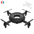 Professional Round Removable RC drone with hd camera 2.4GHz 4-Axis Gyro cross circle Quadcopter high speed rc model Helicopter