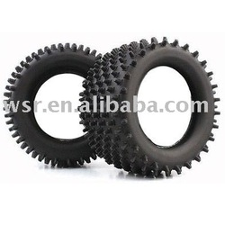 Custom RC rubber tires