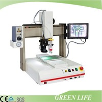 Teach pendant programmed robotic dispensing machine systems / automated dispensing systems for glue adhesives