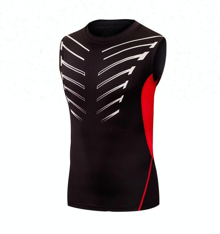 Sublimation Sleeveless Fitness Sportswear Stock