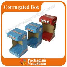 Top Grade custom design corrugated display box for daily necessities