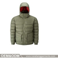 Chinese clothing manufacturers dow jacket clothes for men