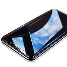 2017 Top Sale 9H Screen Ward 2.5D Flat Front+Back Tempered Glass Screen Guard For iPhone X