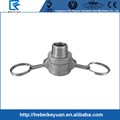 "304 Stainless Steel Cam-and-Groove Pipe Fitting Coupler 1/2"" Cam Lock Socket x 1/2"" Male NPT SUS304"