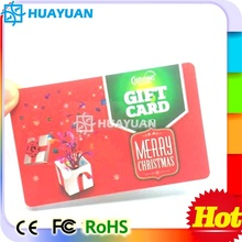 Loyalty membership MIFARE Classic 1K plastic business card (HUAYUAN)