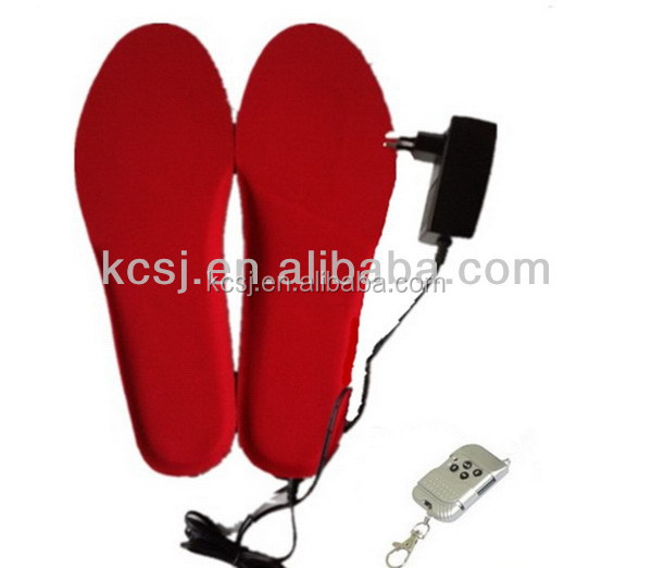 remote control operates unisex Heated Insoles/foot warmer Thermo Soles for Ski Boots