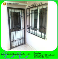 Modern Iron Window Grill Design For Home