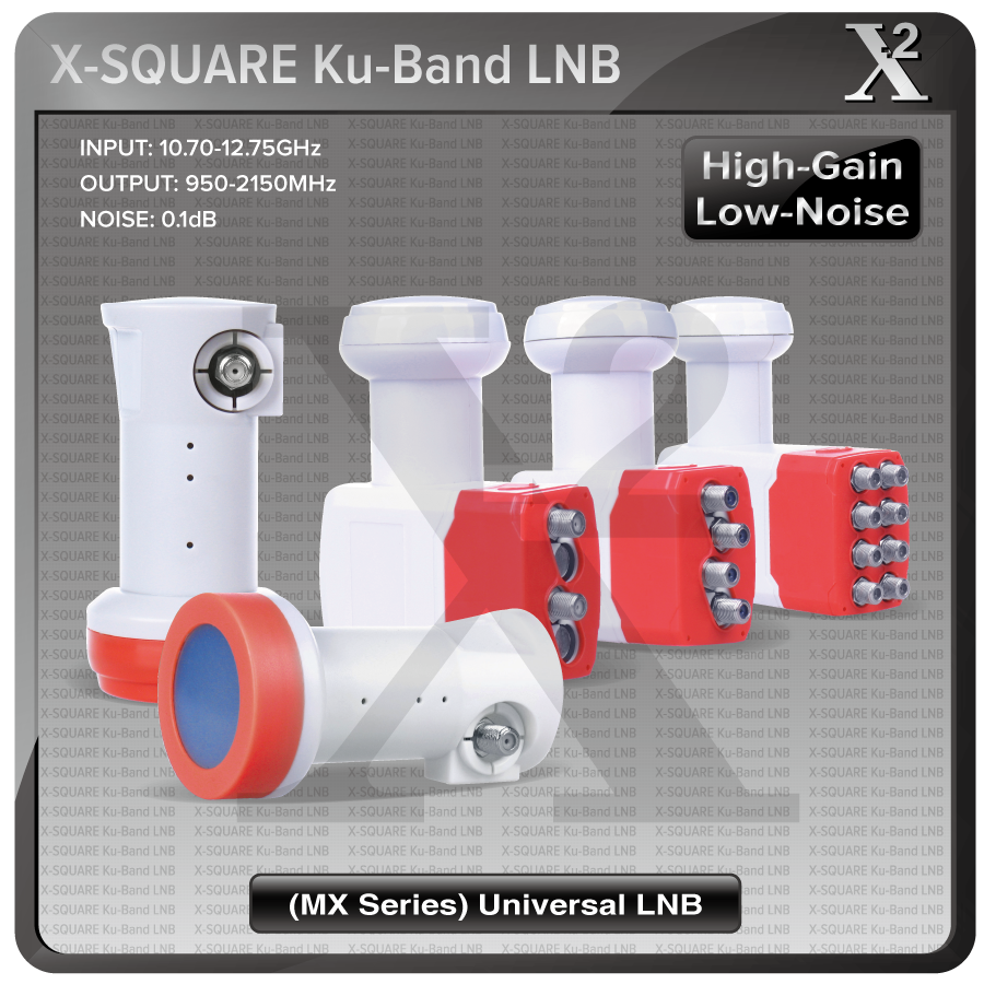 Satellite Receiver Type KU BAND FULL HD SINGLE TWIN QUAD OCTO LNB and LNBF