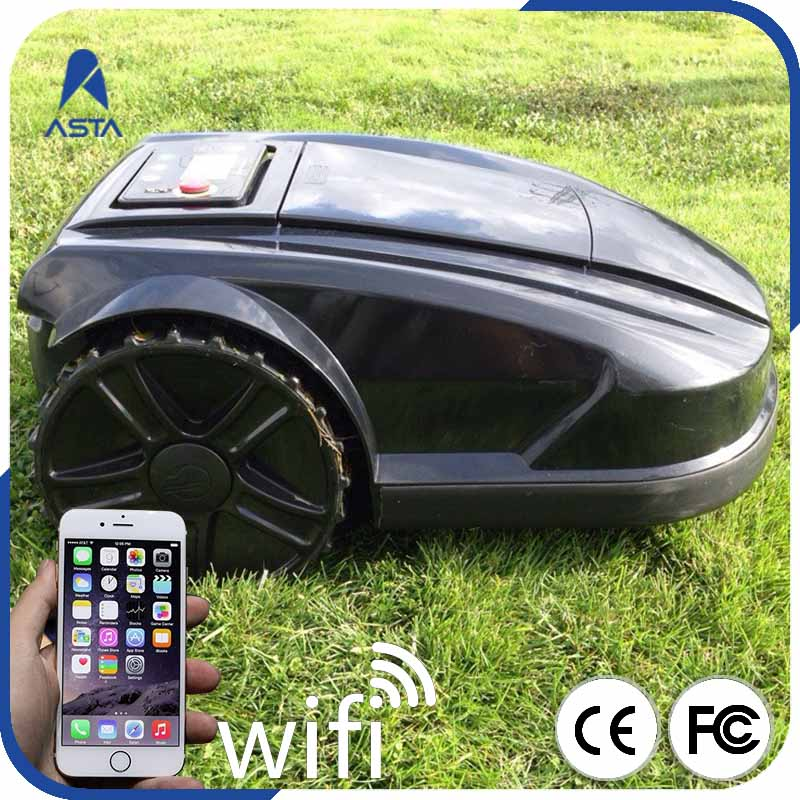 WIFI APP Smart Control automatic Waterproof Self Propelled Electric Lawnmower Robot Mower