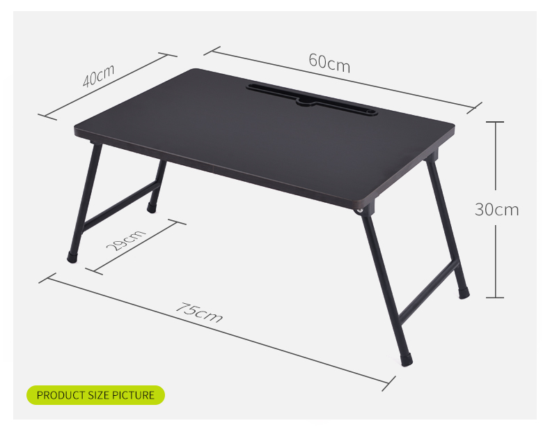 New design MDF adjusted laptop table wood fold computer desk
