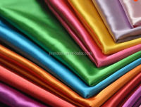 Polyester satin taffeta lining fabric, different types dress materials,polyester fabric