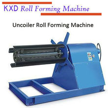 KXD uncoiler for color steel plate (CE) supplier in China