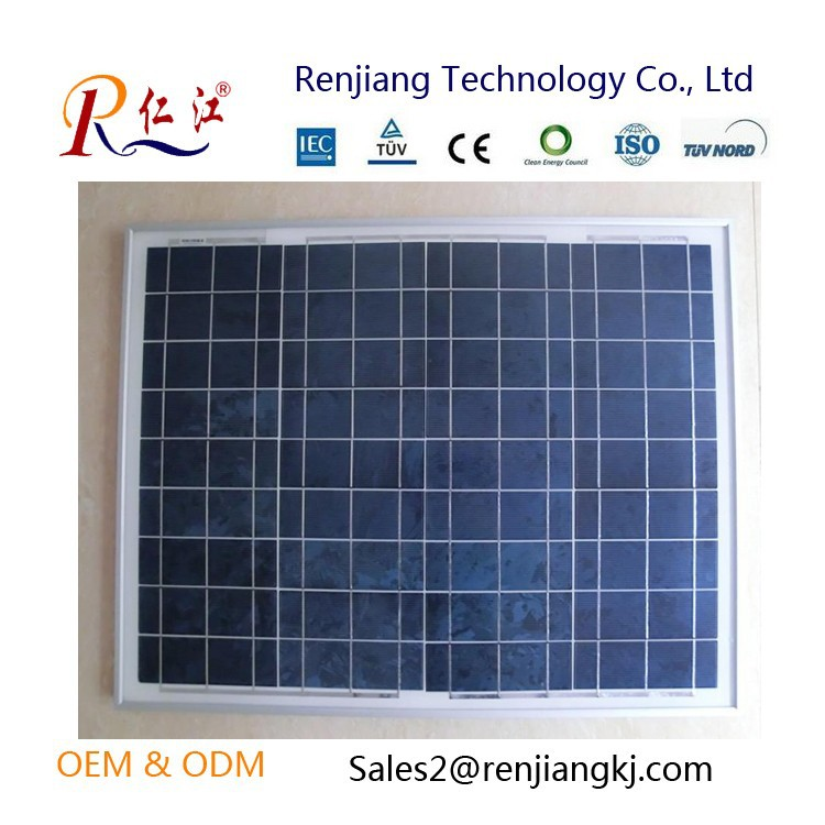 18v 36 pcs Solar Cells 30w Poly solar panel for sale