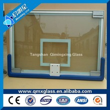 Excellect quality 12mm basketball board tempered glass price