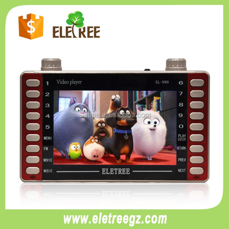 ELETREE PROMOTE usb driver mp5 player joc video player mp4 player with video out
