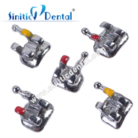 Sinitic Dental metal brackets braces ceramic brackets sample material tese certificate