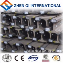 Steel rail used for overhead crane or gantry crane travel