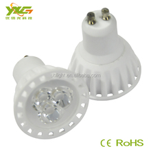 New product for 3w ceramic diameter 35mm gu10 led spot light