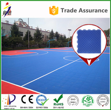 Superior quality pp plastic material indoor / outdoor basketball interlocking sport court flooring tile