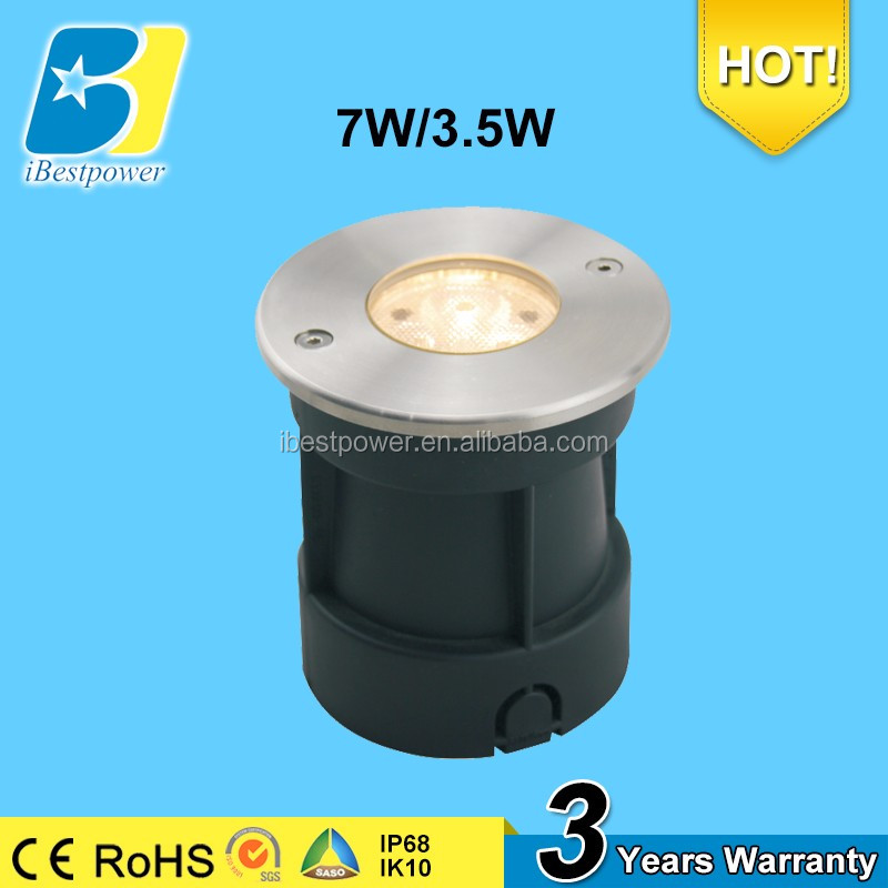 Stainless steel Under Water LED Light Lamp IP68 used for swimming pool or fountain