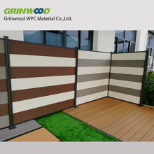 eco-friendly/water proof/anti-uv wood plastic composite wpc fencing wall for outdoor