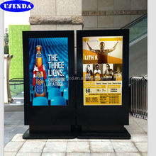 42 55 65 inch sunlight readable waterproof ip65 2000nits lcd outdoor advertising billboard stand