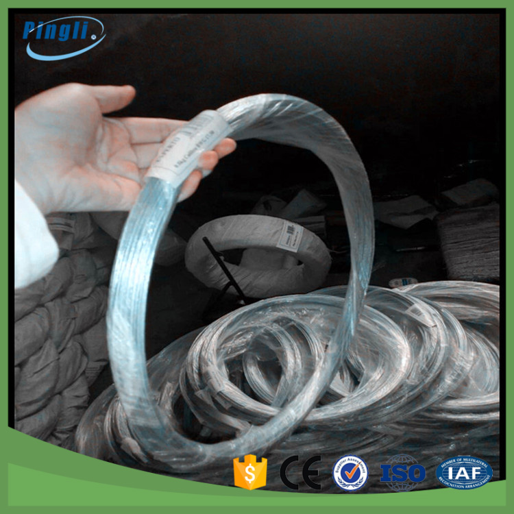0.35mm iron wire spool/ iron steel wire/ plastic coated iron wire