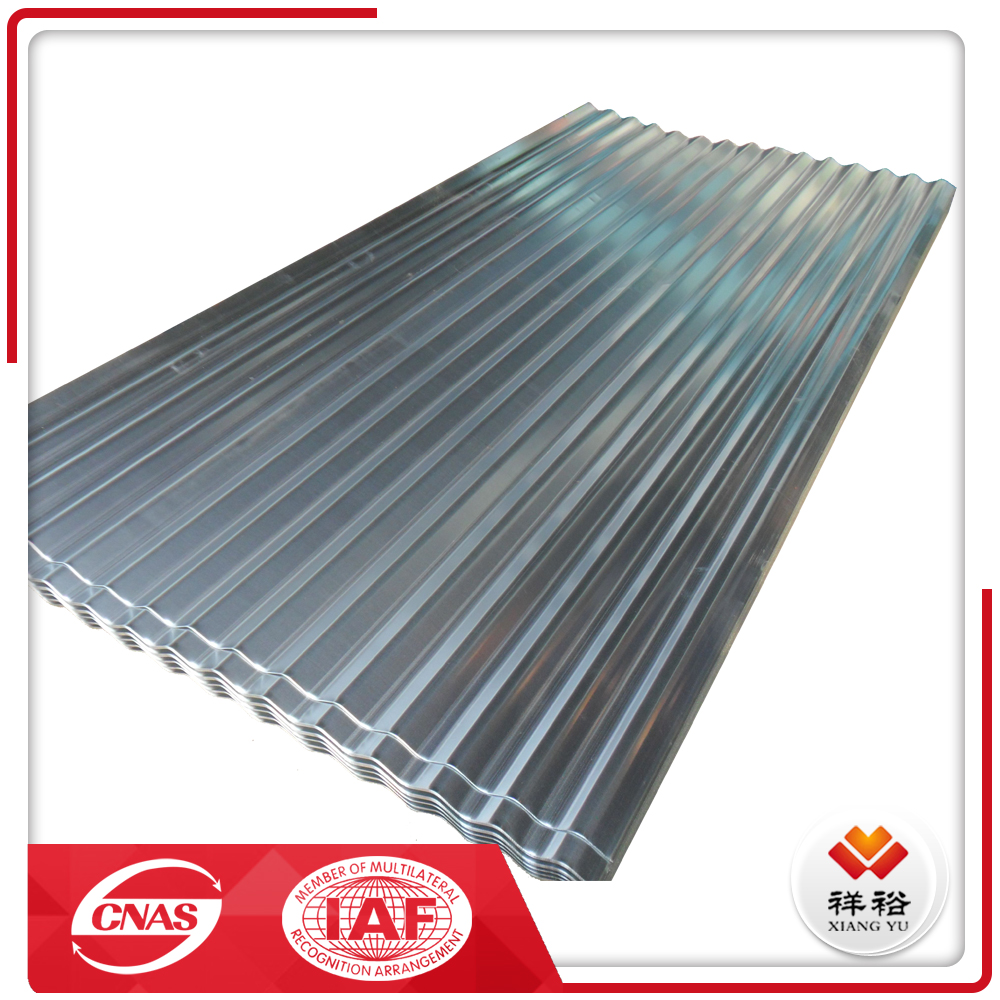 New style corrugated galvanized building roof tile