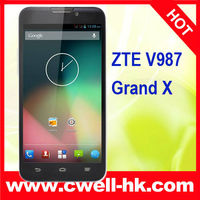 ZTE V987 MTK6589 Quad Core 5.0 Inch Corning Gorilla HD IPS Screen Grand X smart phone