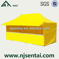 3X6M Waterproof PVC Canopy Gazebos for Sale/Heavy Duty Pop Up Gazebo/Outdoor Market Tent Folding Canopy