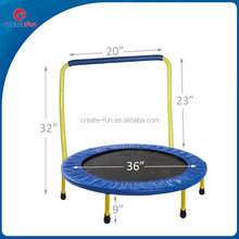 CreateFun High Quality Kids Folding Trampoline For Sale