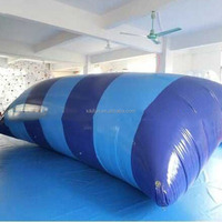 2015 lake toys inflatable water blob launch for amusement water game