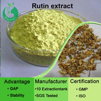 2014 GMP supplier sophora japonica extract 95% quercetin,rutin powder