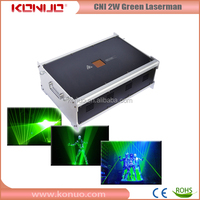 Professional Laserman CNI 1W single green laser stage lighting