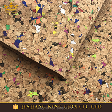 Eco friendly natural cork leather fabric for bag and handbag