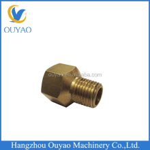 Brass hex female male thread reducing adapter
