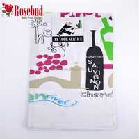 cheap tea towel cotton tea towel customized printing tea towel