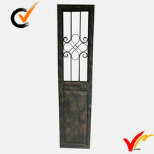 Shabby chic folding carved wooden chinese screens