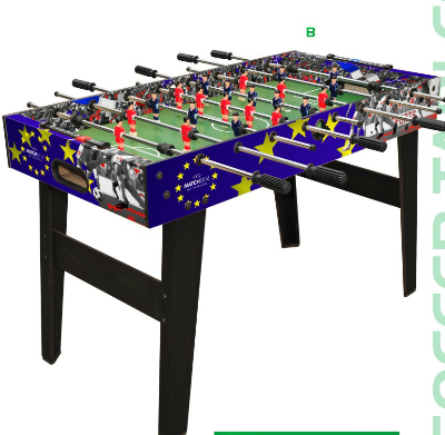 foosball pool table 2 in 1
