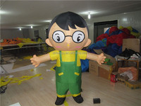 Factory price inflatable moving cartoon /inflatable model for advertising