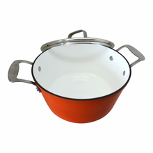 Factory Direct Supply Enamel Sauce pot With Cast Iron Material