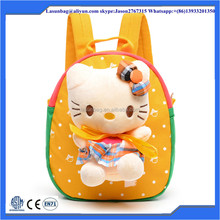 Childrens Use and Softback Type Hmong kindergarten kids backpack school bag