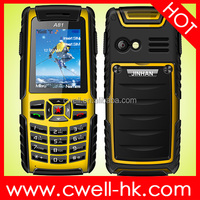 JINHAN A81 IP67 Waterproof Rugged Mobile Phone 2 Inch Dual SIM Card Support Outdoor Tools like Air Pressure Altitude etc