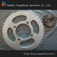 YBR125 , motorcycle chain and sprocket kits